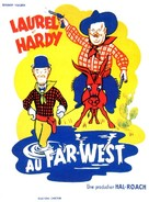 Way Out West - French Movie Poster (xs thumbnail)