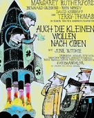 The Mouse on the Moon - German Movie Poster (xs thumbnail)