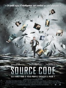 Source Code - French Movie Poster (xs thumbnail)