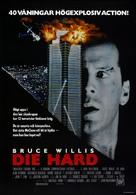 Die Hard - Swedish Movie Poster (xs thumbnail)