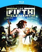 The Fifth Element - British Blu-Ray movie cover (xs thumbnail)