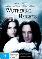Wuthering Heights - Australian DVD cover (xs thumbnail)