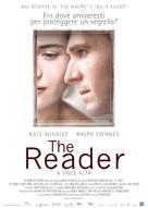 The Reader - Italian Movie Poster (xs thumbnail)