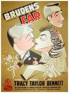 Father of the Bride - Danish Movie Poster (xs thumbnail)