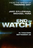 End of Watch - Movie Poster (xs thumbnail)