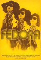 Fedora - Czech Movie Poster (xs thumbnail)