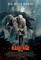 Rampage - Indonesian Movie Poster (xs thumbnail)