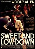 Sweet and Lowdown - German Movie Poster (xs thumbnail)