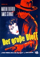 Destry Rides Again - German Movie Poster (xs thumbnail)