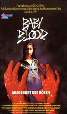 Baby Blood - German VHS cover (xs thumbnail)