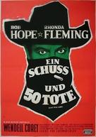 Alias Jesse James - German Movie Poster (xs thumbnail)
