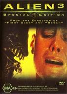 Alien 3 - Australian DVD cover (xs thumbnail)