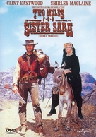 Two Mules for Sister Sara - Canadian DVD movie cover (xs thumbnail)
