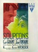 Suspicion - French Movie Poster (xs thumbnail)