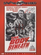 The Body Beneath - DVD cover (xs thumbnail)
