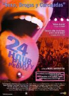 24 Hour Party People - Spanish Movie Poster (xs thumbnail)