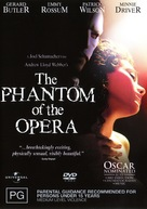 The Phantom Of The Opera - Australian DVD cover (xs thumbnail)