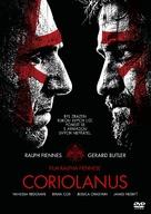 Coriolanus - Czech DVD cover (xs thumbnail)