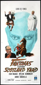 Fantômas contre Scotland Yard - Italian Movie Poster (xs thumbnail)