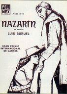Nazarín - Spanish Movie Poster (xs thumbnail)