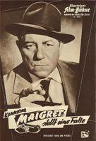 Maigret tend un piège - German poster (xs thumbnail)