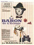 Le baron de l'écluse - French Movie Poster (xs thumbnail)