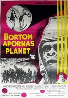 Beneath the Planet of the Apes - Swedish Movie Poster (xs thumbnail)