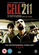 Celda 211 - British DVD movie cover (xs thumbnail)