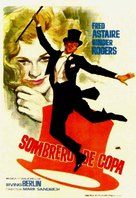 Top Hat - Spanish Movie Poster (xs thumbnail)
