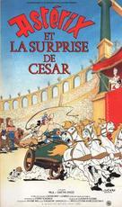 Astérix et la surprise de César - French VHS movie cover (xs thumbnail)