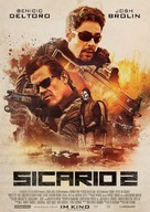 Sicario 2: Soldado - German Movie Poster (xs thumbnail)