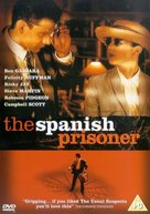 The Spanish Prisoner - British DVD cover (xs thumbnail)