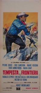 Winnetou und sein Freund Old Firehand - Italian Movie Poster (xs thumbnail)