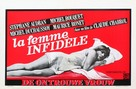 La femme infidèle - Belgian Movie Poster (xs thumbnail)