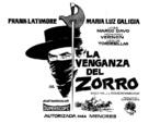 La venganza del Zorro - Spanish poster (xs thumbnail)
