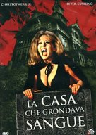 The House That Dripped Blood - Italian DVD cover (xs thumbnail)