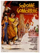 Sodom and Gomorrah - French Movie Poster (xs thumbnail)