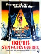 08/15 - Zweiter Teil - French Movie Poster (xs thumbnail)