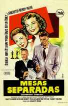Separate Tables - Spanish Movie Poster (xs thumbnail)