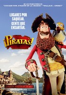 The Pirates! Band of Misfits - Spanish Movie Poster (xs thumbnail)