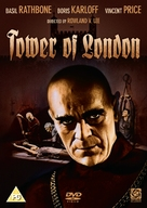 Tower of London - British DVD cover (xs thumbnail)