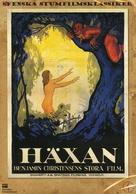 Häxan - Swedish DVD movie cover (xs thumbnail)