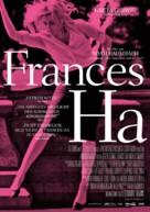 Frances Ha - German Movie Poster (xs thumbnail)