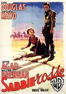 Along the Great Divide - Italian Movie Poster (xs thumbnail)