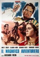 Il magnifico avventuriero - Italian Movie Poster (xs thumbnail)