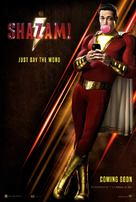 Shazam! - British Movie Poster (xs thumbnail)