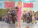 Legally Blonde - British Movie Poster (xs thumbnail)