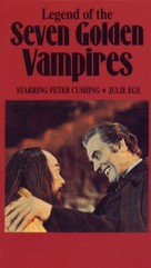 The Legend of the 7 Golden Vampires - VHS movie cover (xs thumbnail)