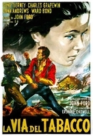 Tobacco Road - Italian Movie Poster (xs thumbnail)