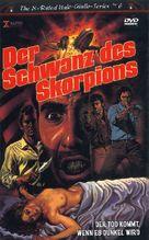 La coda dello scorpione - German DVD cover (xs thumbnail)